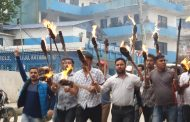 तरकारी चेकजाँच गरेरमात्र नेपाल प्रवेश गराउन प्रदर्शनमा उत्रेका नेविसङ्घका कार्यकर्ता पक्राउ