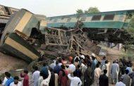 पाकिस्तानमा रेल जुध्यो, १० जनाको मृत्यु, ६० जनाभन्दा बढी घाइते