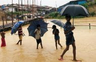 मनसुनी बर्षाका सुरुः विचल्लीमा बङ्गलादेशी शिविरका पाँच हजार रोहिंग्या