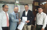 सांग्रिला डेभलपमेन्ट बैंक र उपाय सर्भिसेजबीच सम्झौता