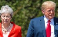 अमेरिकी राष्ट्रपति र बेलायती प्रधानमन्त्रीबीच छलफल