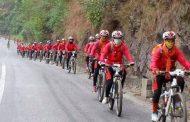 संस्कृतिमा जागरण ल्याउने उद्देश्यले सप्तरी–देवघर साइकल यात्रा शुरू