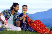 चलचित्र 'लम्फु'बाट चर्चामा आएका कबिर र एलिशा 'भिडियो