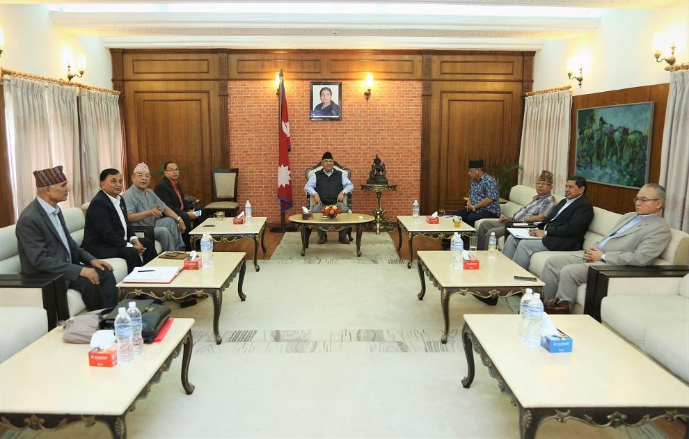 नेकपा सचिवालय बैठकः कास्की–२ मा भट्टराई, भक्तपुरमा ढकाल, दाङमा ओली सिफारिस