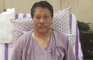 आठ दिनको अस्पताल बसाई र स्वास्थ्यमा सुधारपछि नेता सिंह डिस्चार्ज