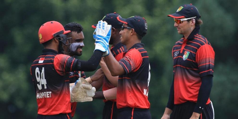 त्रिकोणात्मक टी–ट्वान्टी क्रिकेटको नेपाल शीर्ष स्थानमाः जिम्बावेमाथि सिंगापुरको जित