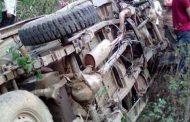 बैतडीमा  एकाबिहानै भयो बस दुर्घटनाः २१ यात्री घाइतेः सात जना गम्भीर