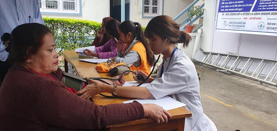 विश्व मुटु दिवस– अल्का अस्पतालमा निःशुल्क स्वास्थ्यशिविर
