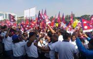 आजको टुंडिखेलः हातहातमा झण्डा, मनमनमा संविधान