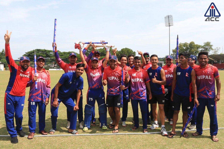 एशिया कप–नेपालले श्रीलङ्का विरुद्व टस जित्यो