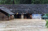 अविरल वर्षाका कारण सयौं घर डुबानमा, गाउँपालिका जलमग्न