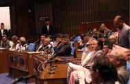सञ्चारमन्त्रीको राजीनामा माग गर्दै काँग्रेसद्वारा राष्ट्रियसभा बैठक अवरुद्ध
