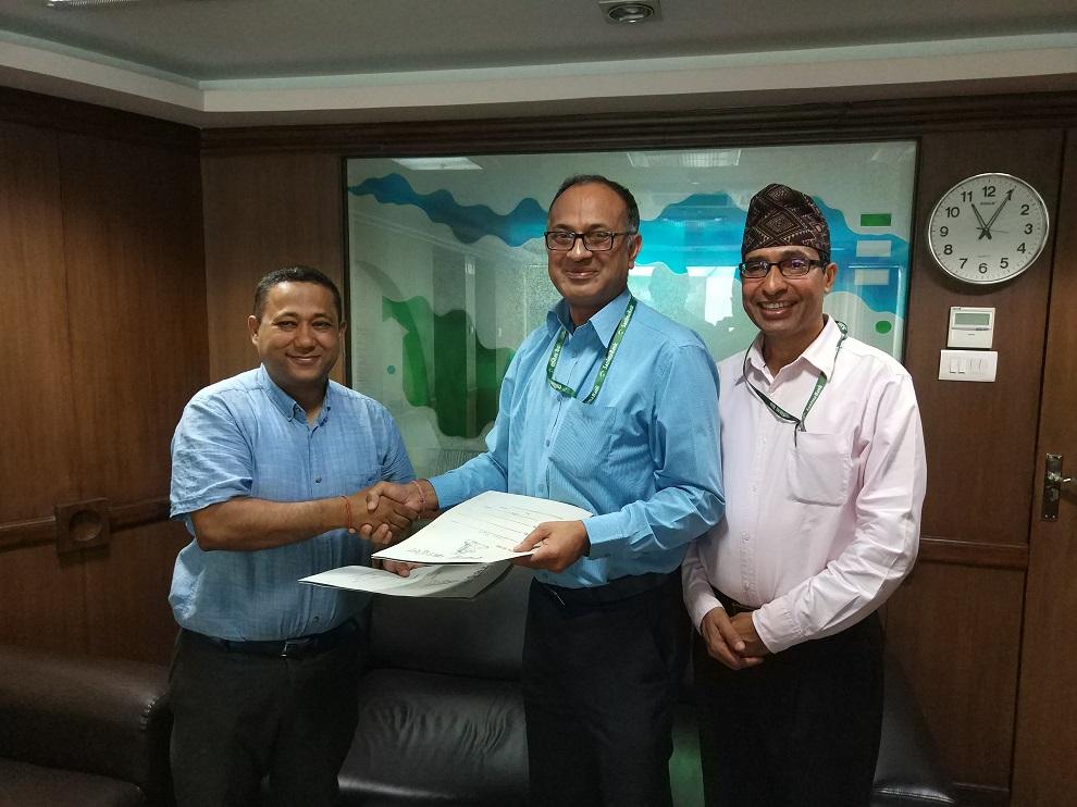 Teach For Nepal लाई सानिमा बैंककोआर्थिक सहयोग