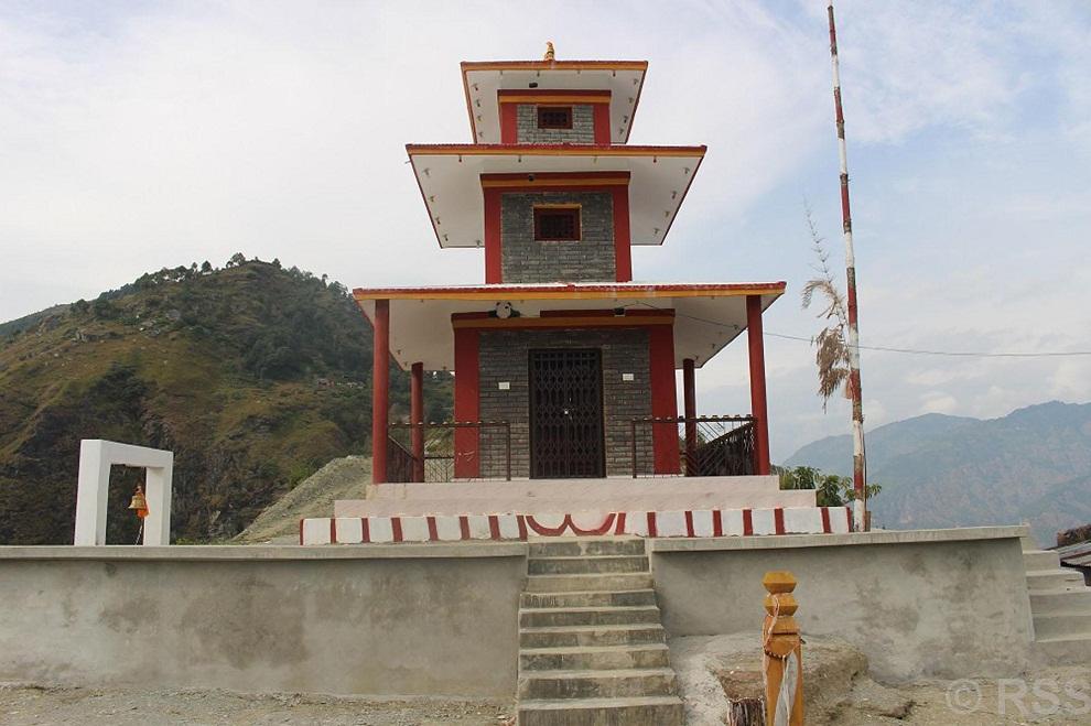 ऐतिहासिक घतानकोत मन्दिर पुनःनिर्माण सम्पन्न