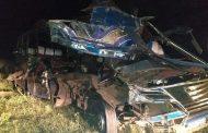 पश्चिमी केन्यामा बस र ट्रक दुर्घटनामा परी १२ को मृत्यु