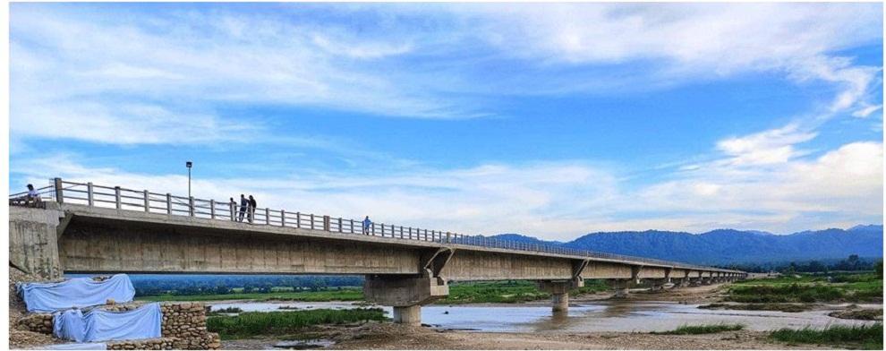 दाङमा नेपालको दोस्रो लामो पुल निर्माण पूरा