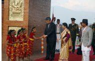 चिनियाँ राष्ट्रपति सी जीनफीङको स्वागत/ सवारीसहित (फोटो फिचर)