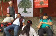 केन्द्रीय कार्यालय र देशभरको काँग्रेस चियापान अनि रक्तदान (३२ तस्वीर)