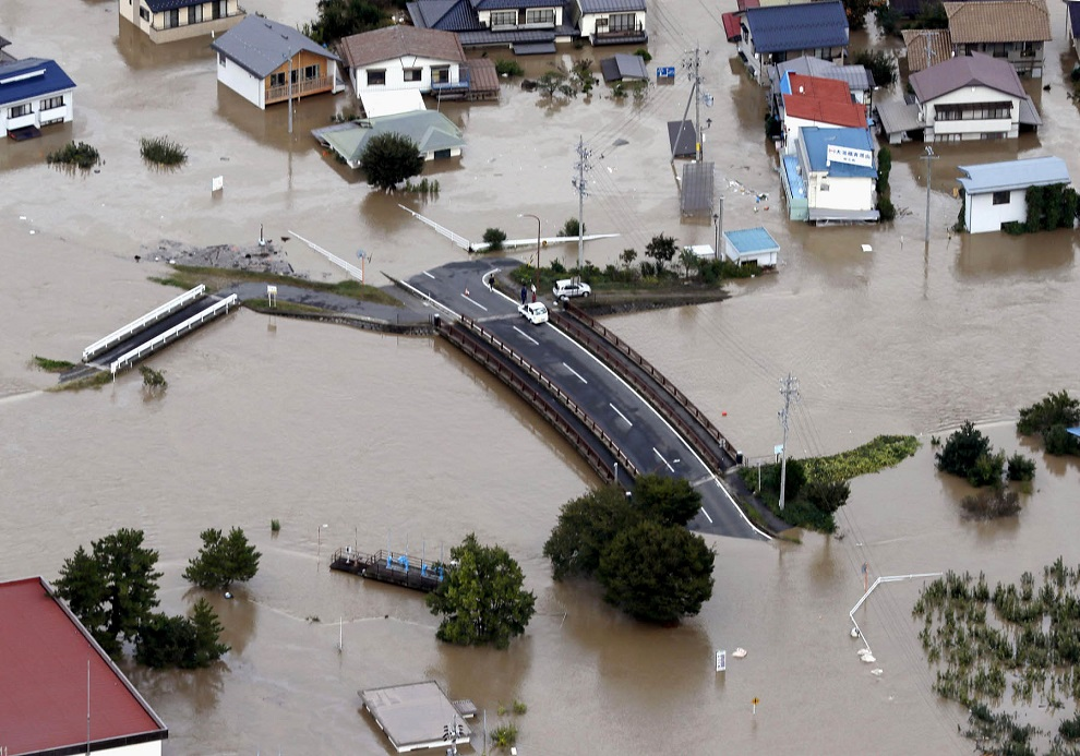 जापानको शक्तिशाली आँधीमा हालसम्म ११ जनाको मृत्यु, जनजीवन प्रभावित