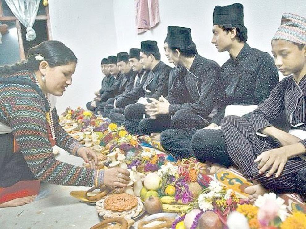 नेवार समुदायको महत्वपुर्ण चाड–किजा पूजा (भाईटिका) आजः सरकारद्धारा सार्वजनिक बिदा