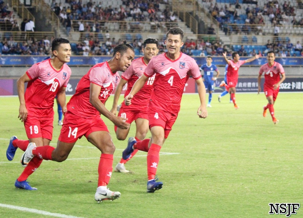 अन्तराष्ट्रिय मैत्रिपुर्ण खेलमा नेपाल म्यानमारसँग पराजित