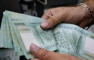 लेबनानी पाउण्डको विनिमय दरमा छ प्रतिशत गिरावट