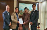 नेपाल क्रेडिट एण्ड कमर्स बैंक लिमिटेडकोे नेपाल मेडिसिटि अस्पतालसँग सम्झौता