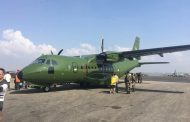 नेपाली सेनाले भित्र्यायो नयाँ विमान, अन्तरराष्ट्रिय विमानस्थलमा अवतरण