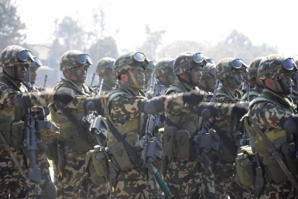 नेपाली सेनाद्वारा सामुदायिक विपद् प्रतिकार्य तालीम