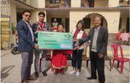 नेपाल बंगलादेश बैंकद्धारा निःसहाय सेवा सदनलाई आर्थिक सहयोग