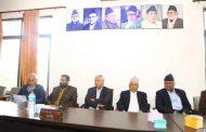 काँग्रेस बैठकः धरानमा तिलक सर्बसम्मत्, देशभरका बाँकी उमेर्द्वार टुंगो लगाउन पदाधिकारीलाई जिम्मा