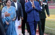 बङ्गलादेशका राष्ट्रपति स्वदेश प्रस्थान