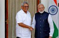 श्रीलङ्काका राष्ट्रपति र भारतीय प्रधानमन्त्रीबीच भेटवार्ता