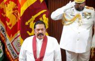 श्रीलङ्काको प्रधानमन्त्रीका रूपमा महिन्दा राजापाक्षद्वारा सपथ ग्रहण