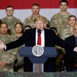 trump at afganistan with taliwan