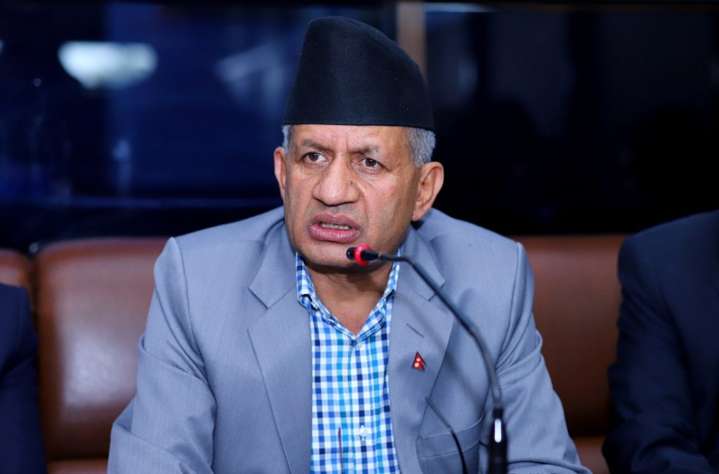 Border dispute will be resolved thru diplomatic channel: Minister Gyawali