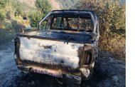 रावाबेँसी गाउँपालिका प्रमुखको गाडीमा आगजनी