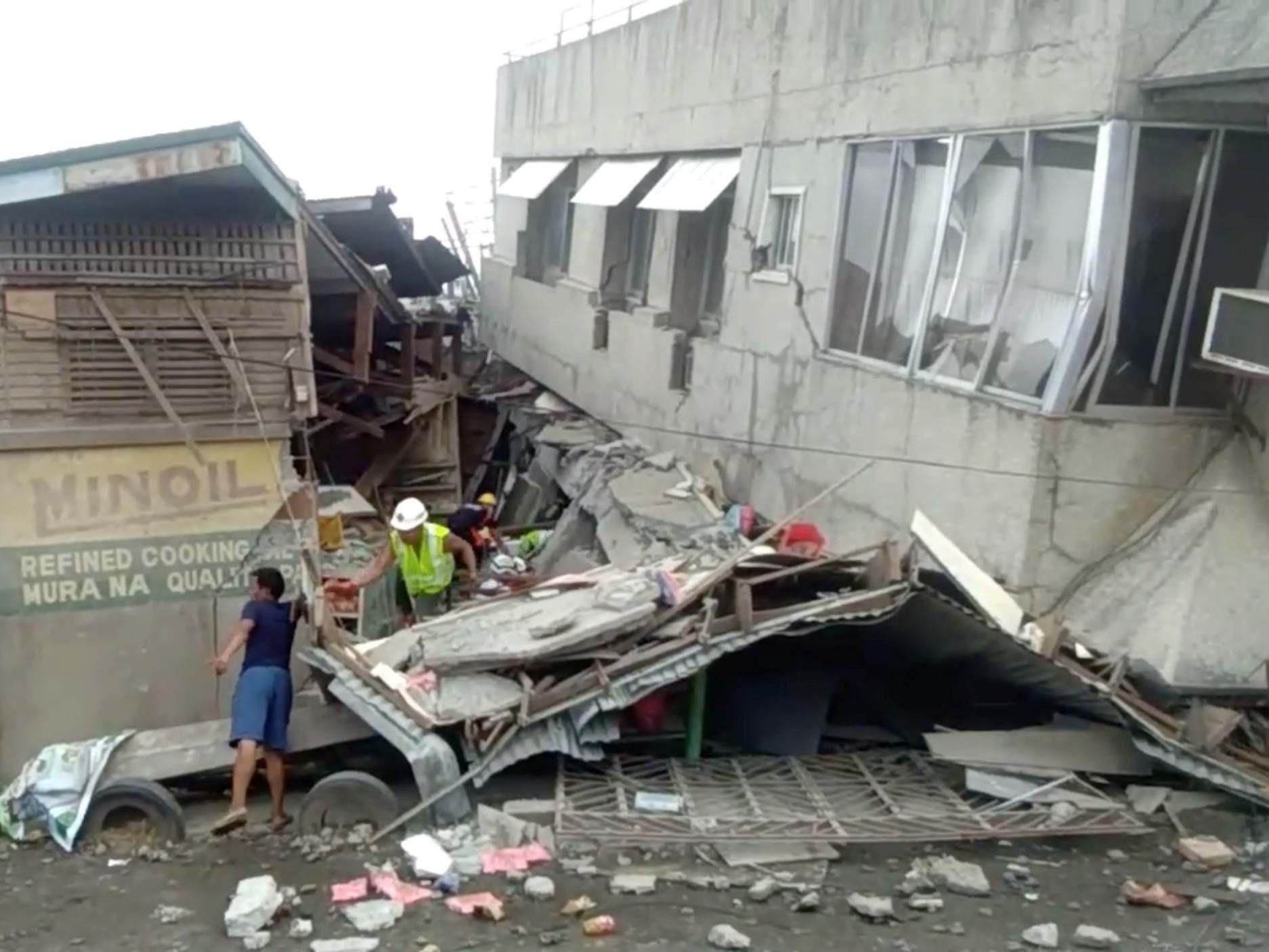फिलिपिन्समा शक्तिशाली भूकम्प: एक बालिकाको मृत्यु, कयौं घाइते