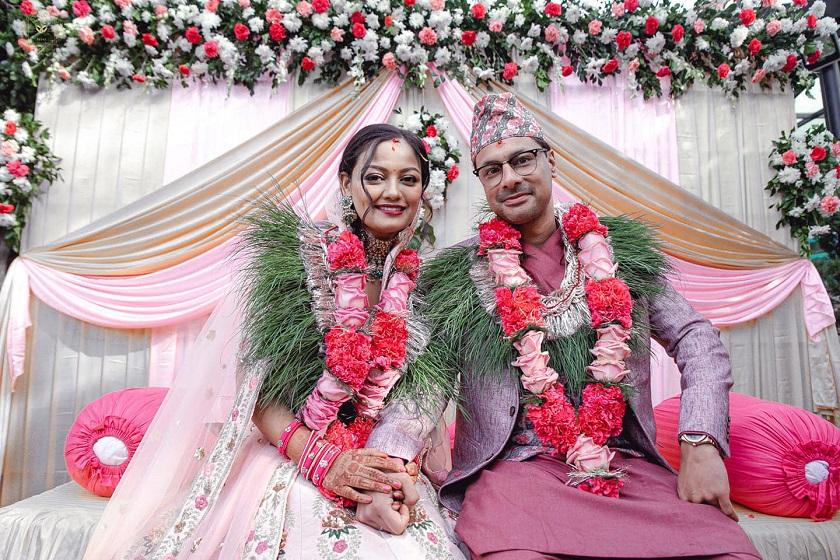अभिनेत्री ऋचा शर्माले गरिन् विवाह : को हुन् दिपेक्ष विक्रम राना ?
