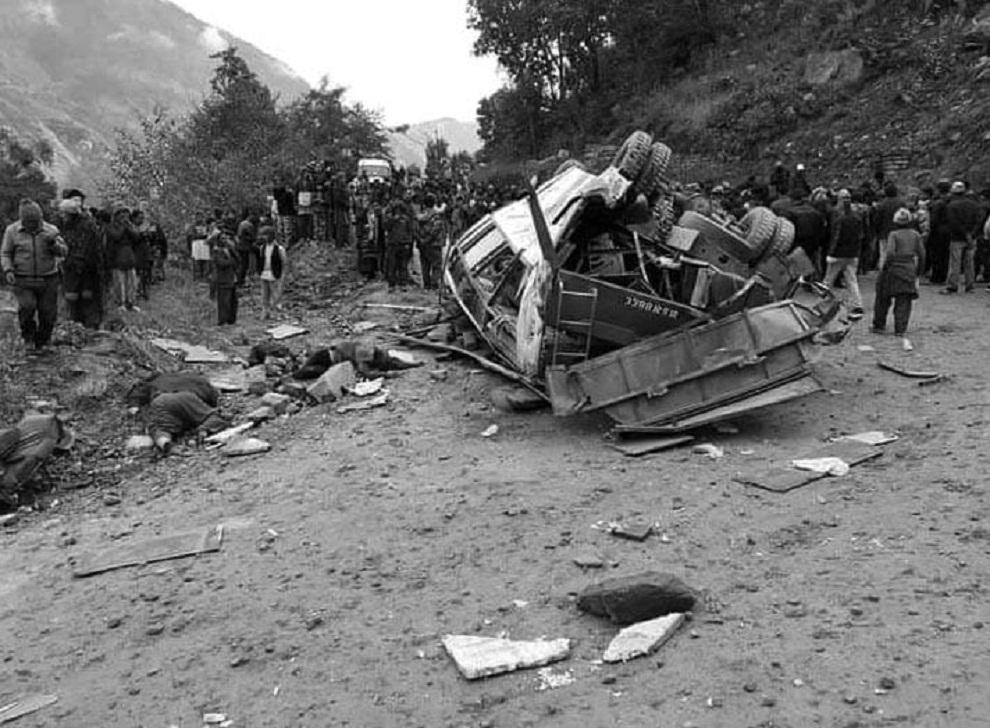 तीर्थ यात्रा गएर फर्केको बस दुर्घटनामा हालसम्म १५ को मृत्यु, नामसहित अपडेट