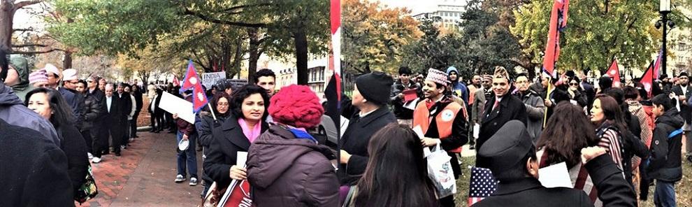 भारतको अतिक्रमणको बिरोधमा अमेरीकाका नेपालीहरु यसरी हुँदैछन् एकजुट