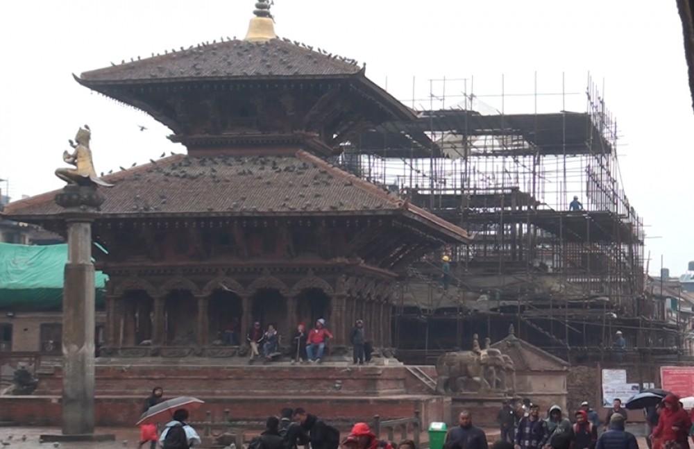भीमसेन मन्दिर पुनःनिर्माण गर्न एक करोड