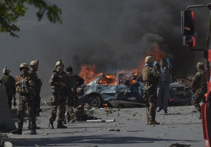 बग्राम सैन्य शिविर बाहिर विस्फोट, एकको मृत्यु, ५० घाइते