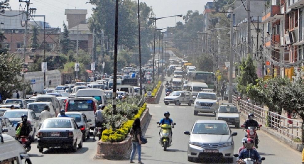 साग समापनको दिन काठमाडौँमा आज बिजोर नम्बरका सवारी सञ्चालनमा रोक