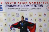 सागमा ४ स्वर्ण पदक जितेकी गौरिका सिंहले ५९ लाख रुपैयाँ पाउने