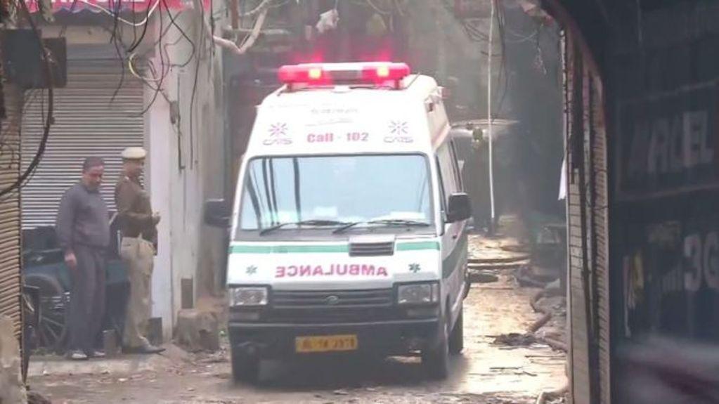 झाँसी रोड आगलागीमा मृत्यु हुनेको संख्या ४३ पुग्यो