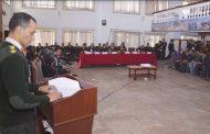 नेपाली सेनाको छलफल तथा अन्तरक्रिया कार्यक्रम सम्पन्न