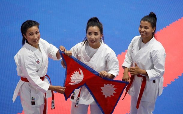 13th SAG: Nepal's on top of table with 15 gold medals on second day