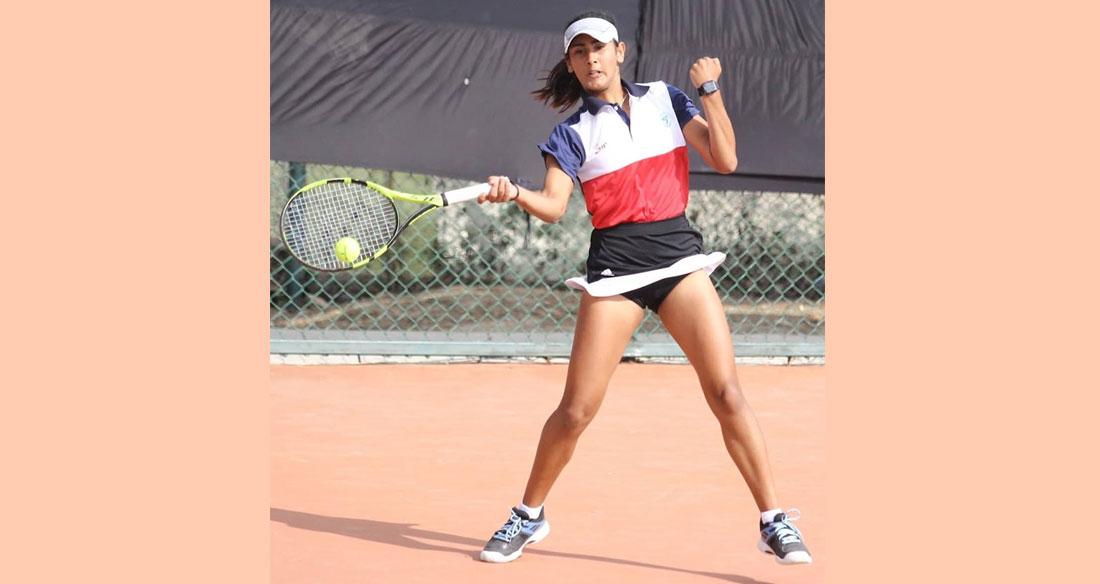 टेनिसको महिला सिंगल्सतर्फ कास्य जित्दै नेपालकी प्रेरणा सेमिफाइनलमा