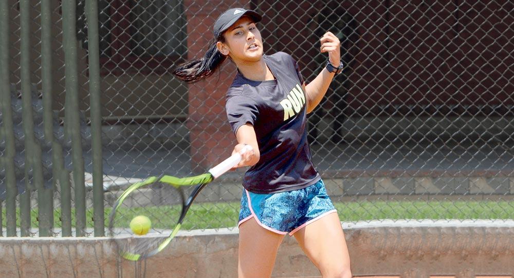 टेनिसमा नेपालकी  कोइराला सेमिफाइनलमा